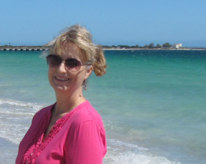 Me at Coogee Beach, Western Australia, this week