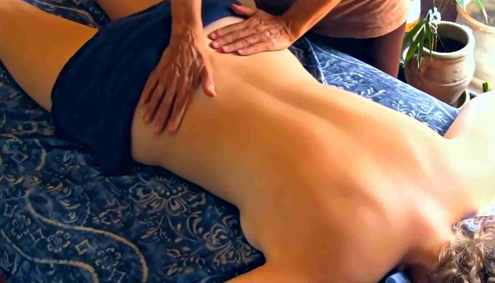 Sex machine erotic massage body to body