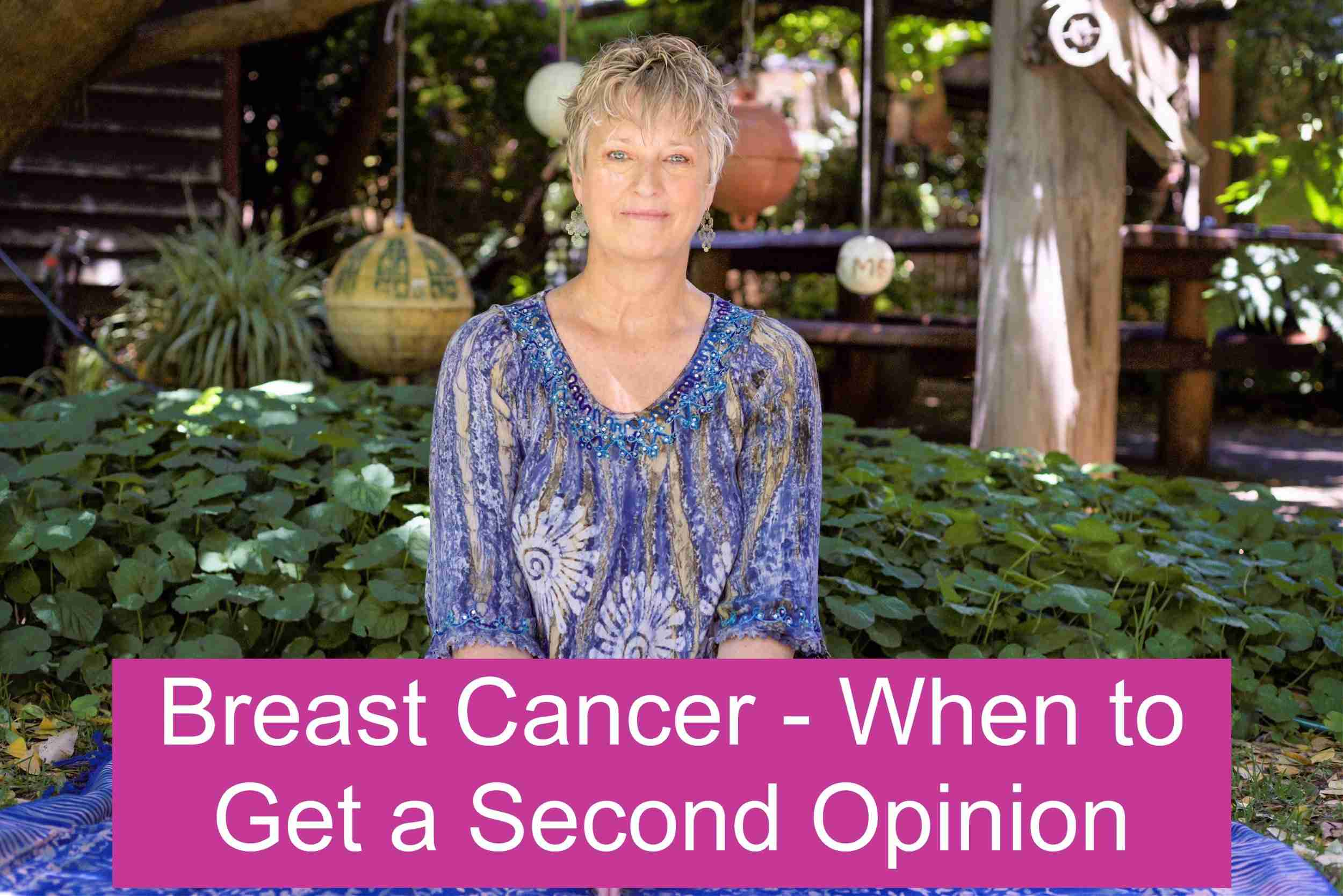 Breast Cancer – When to Get a Second Opinion